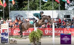Interview with John McEntee after European Pony Team Gold Success