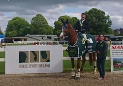 Jonathan Smyth comes out on top in TRM/Horse Sport Ireland New Heights Champions Series at Ballinasloe
